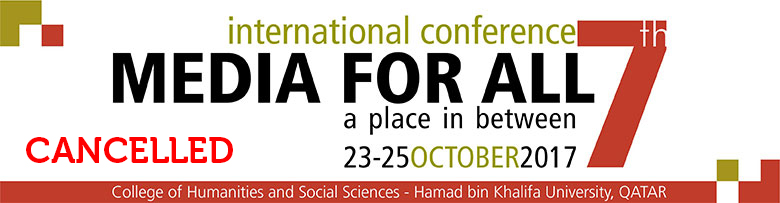"5th International Conference ""Media for All"""
