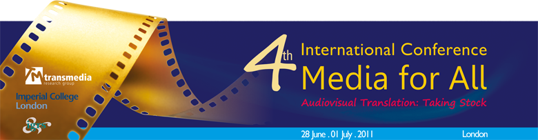 "4th International Conference ""Media for All"""